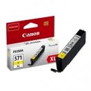 Canon originální ink 0334C001, yellow, 11ml, CLI571Y XL, high capacity, Canon PIXMA MG5750, MG5751, MG5752, MG5753, MG7750, MG77