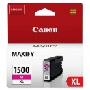 Canon originální ink PGI 1500XL, magenta, 12ml, 9194B001, high capacity, Canon MAXIFY MB2050, MB2350
