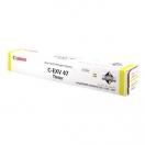 Canon originální toner CEXV47, yellow, 21500str., 8519B002, Canon IRA C250,255,350,351,355,IR-C250,255,350,351,355