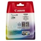 Cartridge Canon PG40/CL41 - black/color, černá/barevná inkoustová kazeta do tiskárny