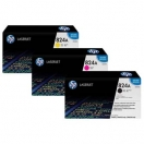 HP CB381A cyan - azurová barva do tiskárny