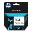 HP originální ink T6N01AE, HP 303, color, 165str., HP ENVY Photo 6230, 7130, 7134, 7830