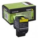 Lexmark 70C2HY0 - yellow, žlutá barva do tiskárny