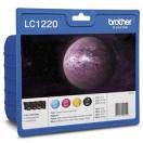 Náplň Brother LC-1220VALBP - CMYK, barevná tisková kazeta