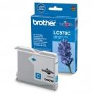 Náplň Brother LC-970C - cyan, azurová tisková kazeta