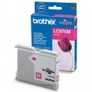 Náplň Brother LC-970M - magenta, purpurová tisková kazeta