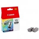 Náplň Canon BCI15B - black, černá tisková kazeta, 2ks
