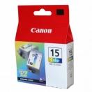 Náplň Canon BCI15C - color, barevná tisková kazeta, 2ks