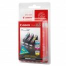 Náplň Canon CLI521 - cyan/magenta/yellow, azurová/purpurová/žlutá inkoustová kazeta