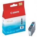 Náplň Canon CLI8C - cyan, azurová inkoustová kazeta