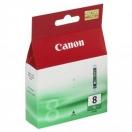 Náplň Canon CLI8G - green, zelená inkoustová náplň do tiskárny