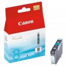 Náplň Canon CLI8PC - photo cyan, photo azurová tisková kazeta