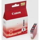 Náplň Canon CLI8R - red, červená inkoustová náplň do tiskárny