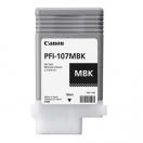 Náplň Canon PFI107MBK, matte black, černá inkoustová náplň