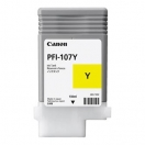 Náplň Canon PFI107Y, yellow, žlutá inkoustová náplň