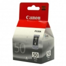 Náplň Canon PG50 - black, černá tisková kazeta