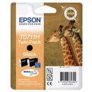 Náplň Epson C13T07114H10 - black, černá tisková kazeta