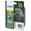 Náplň Epson C13T079440 - yellow, žlutá tisková kazeta