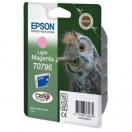 Náplň Epson  C13T079640 - light magenta, světle purpurová tisková kazeta