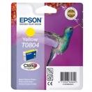 Náplň Epson  C13T08044011 - yellow, žlutá tisková kazeta