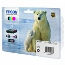 Náplň Epson C13T26164020 - CMYK, barevná tisková kazeta