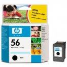 Náplň HP  C6656AE, HP č.56 - black, černá tisková kazeta
