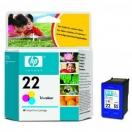 Náplň HP C9352AE, HP č.22 - color, barevná tisková kazeta
