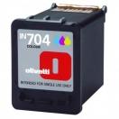 Náplň Olivetti B0629 - cyan/magenta/yellow, azurová/purpurová/žlutá inkoustová kazeta