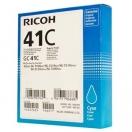 Náplň Ricoh 405762, cyan, azurová inkoustová náplň