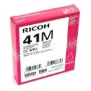 Náplň Ricoh 405763, magenta, purpurová inkoustová náplň