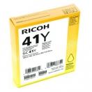 Náplň Ricoh 405764, yellow, žlutá inkoustová náplň