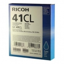 Náplň Ricoh 405766 - cyan, azurová gelová náplň do tiskárny