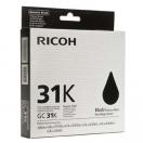Ricoh originální gelová náplň 405688, black, typ GC 31, Ricoh GXe2600/GXe3000N/GXe3300N/GXe3350N