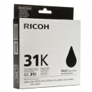 Ricoh originální ink 405688, black, typ GC 31, Ricoh GXe2600/GXe3000N/GXe3300N/GXe3350N