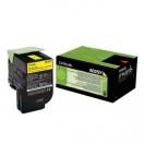 Toner Lexmark 80C2SY0 - yellow, žlutá barva do tiskárny